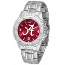 Alabama Crimson Tide Competitor AnoChrome Men's Watch with Steel Band