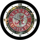 "Alabama Crimson Tide 12"" Camo Wall Clock"