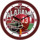 "Alabama Crimson Tide  12"" Helmet Wall Clock"