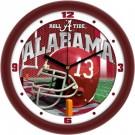 "Alabama Crimson Tide  12"" Helmet Wall Clock"