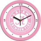 "Alabama Crimson Tide 12"" Pink Wall Clock"
