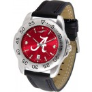 Alabama Crimson Tide Sport AnoChrome Men's Watch with Leather Band