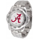 Alabama Crimson Tide Sport Steel Band Men's Watch