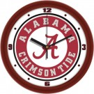 "Alabama Crimson Tide Traditional 12"" Wall Clock"