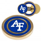 Air Force Academy Falcons Gold Challenge Coin with Ball Markers (Set of 2)