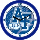 "Air Force Academy Falcons 12"" Dimension Wall Clock"