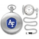 Air Force Academy Falcons Silver Pocket Watch