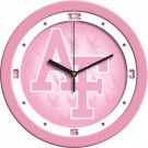 "Air Force Academy Falcons 12"" Pink Wall Clock"