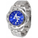 Air Force Academy Falcons Sport Steel Band Ano-Chrome Men's Watch