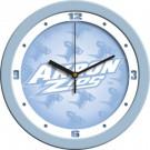 """Akron Zips 12"""" Blue Wall Clock"""