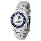 Akron Zips Competitor Ladies Watch with Steel Band