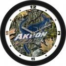 "Akron Zips 12"" Camo Wall Clock"