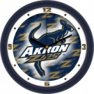 "Akron Zips 12"" Dimension Wall Clock"