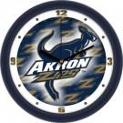 "Akron Zips 12"" Dimension Wall Clock"