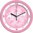 "Akron Zips 12"" Pink Wall Clock"