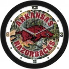 "Arkansas Razorbacks 12"" Camo Wall Clock"