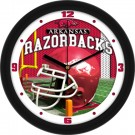 "Arkansas Razorbacks 12"" Helmet Wall Clock"