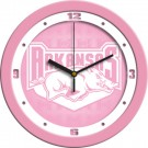 "Arkansas Razorbacks 12"" Pink Wall Clock"