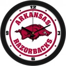 "Arkansas Razorbacks Traditional 12"" Wall Clock"
