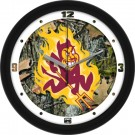 "Arizona State Sun Devils 12"" Camo Wall Clock"