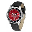 Arkansas State Red Wolves Competitor AnoChrome Men's Watch with Nylon/Leather Band and Colored Bezel