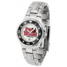 Arkansas State Red Wolves Competitor Ladies Watch with Steel Band