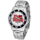 Arkansas State Red Wolves Competitor Men's Watch with Steel Band