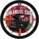 "Arkansas State Red Wolves 12"" Helmet Wall Clock"