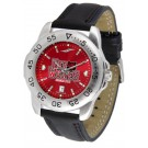 Arkansas State Red Wolves Sport AnoChrome Men's Watch with Leather Band