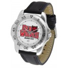 Arkansas State Red Wolves Men's Sport Watch with Leather Band