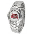 Arkansas State Red Wolves Ladies Sport Watch with Stainless Steel Band