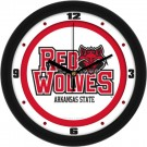 "Arkansas State Red Wolves Traditional 12"" Wall Clock"
