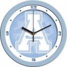"Appalachian State Mountaineers 12"" Blue Wall Clock"