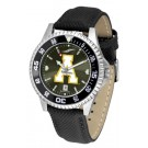 Appalachian State Mountaineers Competitor AnoChrome Men's Watch with Nylon/Leather Band and Colored Bezel