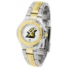 Appalachian State Mountaineers Competitor Ladies Watch with Two-Tone Band