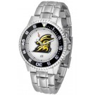Appalachian State Mountaineers Competitor Men's Watch with Steel Band