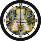 "Appalachian State Mountaineers 12"" Camo Wall Clock"