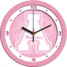 "Appalachian State Mountaineers 12"" Pink Wall Clock"