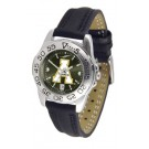 Appalachian State Mountaineers Sport AnoChrome Ladies Watch with Leather Band