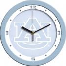 """Auburn Tigers 12"""" Blue Wall Clock"""
