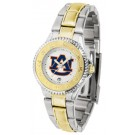 Auburn Tigers  Competitor Ladies Watch with Two-Tone Band
