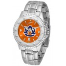 Auburn Tigers Competitor AnoChrome Men's Watch with Steel Band