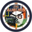 """Auburn Tigers  12"""" Helmet Wall Clock"""