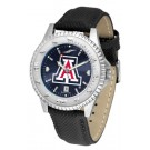 Arizona Wildcats Competitor AnoChrome Men's Watch with Nylon/Leather Band