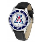 Arizona Wildcats Competitor Men's Watch with Nylon / Leather Band