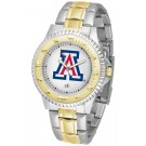 Arizona Wildcats Competitor Two Tone Watch