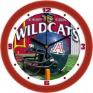 "Arizona Wildcats 12"" Helmet Wall Clock"