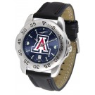 Arizona Wildcats Sport AnoChrome Men's Watch with Leather Band