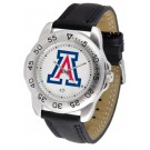Arizona Wildcats Men's Sport Watch with Leather Band