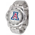 Arizona Wildcats Sport Steel Band Men's Watch